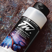 Buy 6 Daler FW Inks : Get a Free Daler Rowney FW Acrylic Ink 750ml Pouring Medium