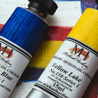 Free Michael Harding Oil Paint 15ml : When you spend £25 or more on Michael Harding