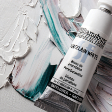Free Williamsburg Oil Paint 37ml Safflower Porcelain White : When you spend £60 or more on Williamsburg