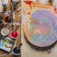 Acrylic Pouring