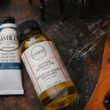 Gamblin : Cold Wax Oil Painting Medium 2oz : Free When You Spend £20 on Gamblin Products