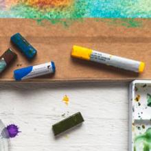 Watercolour Paint Sticks
