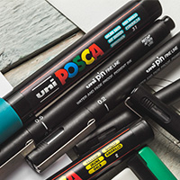 Uni Pin & Posca : Save up to 45% off RRP