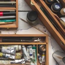 Art Material Storage