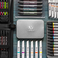 Winsor & Newton Marker Sets : Save up to 20% off RRP