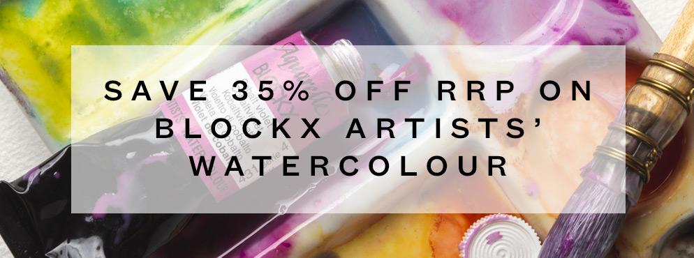 Blockx Watercolour Offer