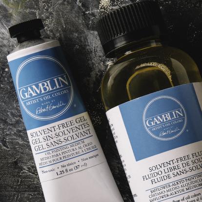 Gamblin Solvent Free Mediums
