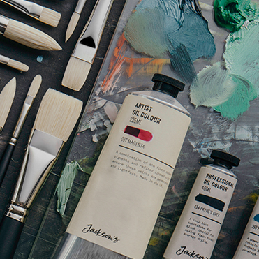 15% OFF JACKSON'S PROFESSIONAL OIL, ARTIST OIL,  AND SHIRO BRUSHES 12 OCT 2018