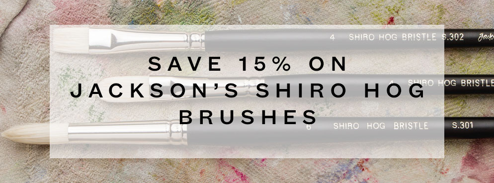 Jacksons Shiro Hog Brushes