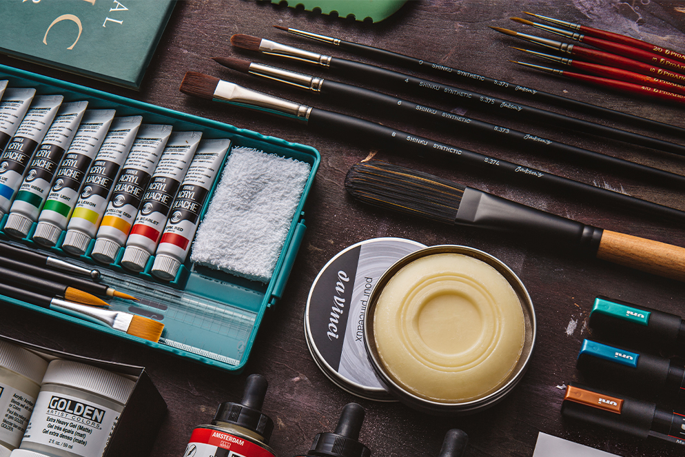 USA - Acrylic painter