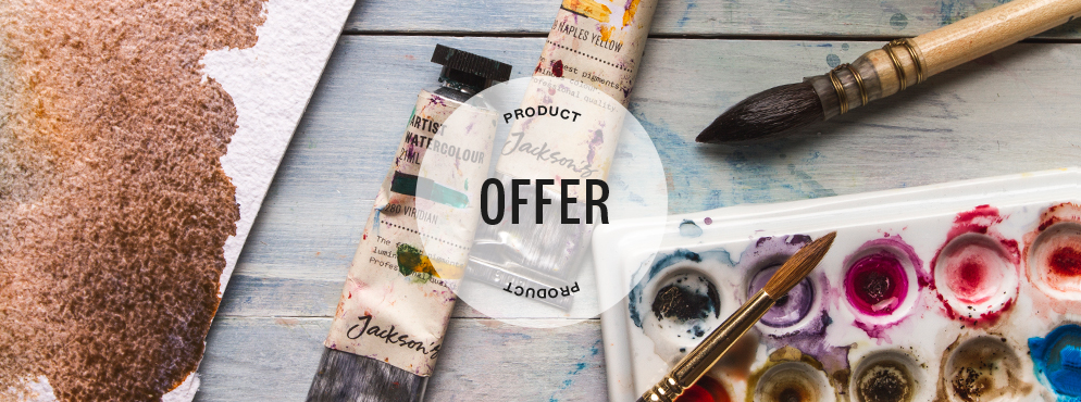 Jacksons Artist Watercolour Offer