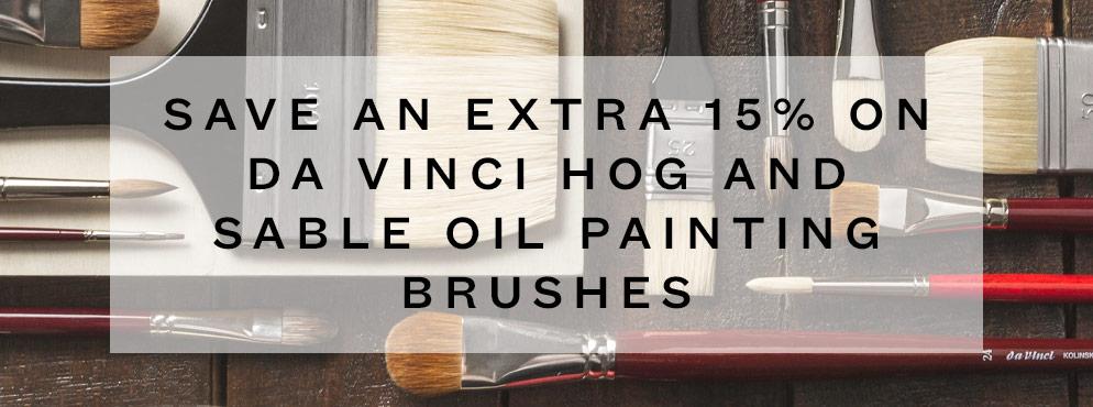 Offer Da Vinci Brushes