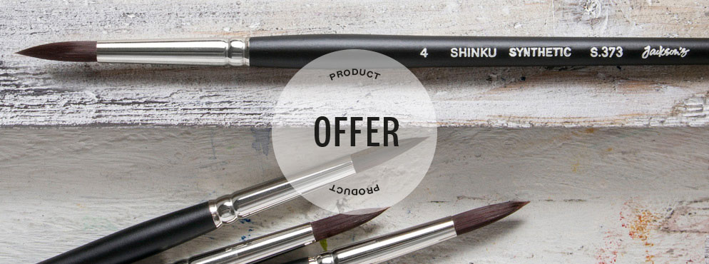 Jacksons Shinku Brush Offer