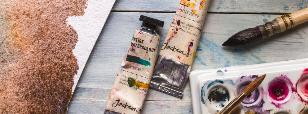 Jacksons Artist Watercolour Offer