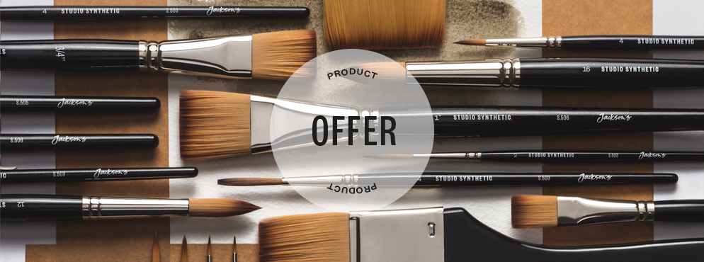 Jacksons Brush Offer