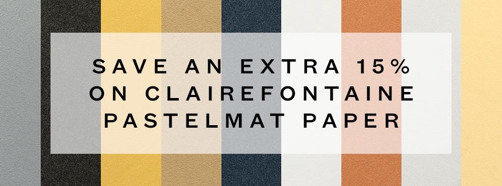 Clairefontaine Pastelmat Paper