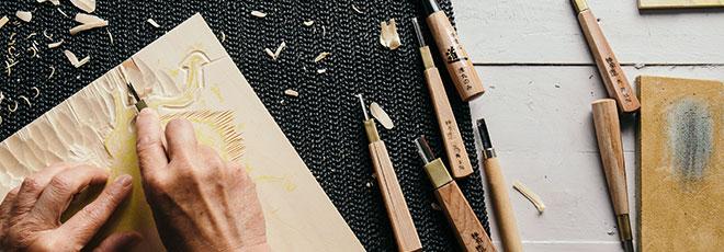 Japanese Woodcut - Moku Hanga