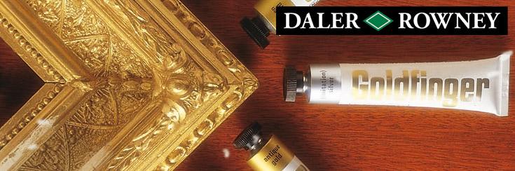 Daler Rowney : Goldfinger