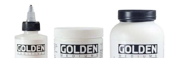 Golden : Mediums & Additives