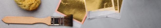 Werkzeuge zum Vergolden
