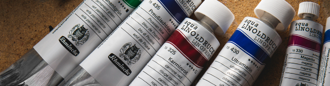 Schmincke : Linoprint : Inks and Mediums : Save over 30% off RRP
