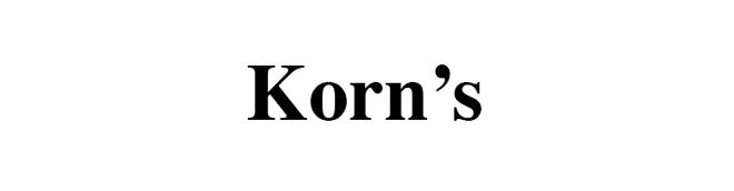 Korn's