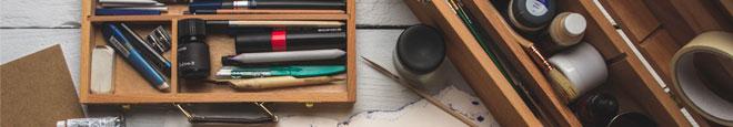 Paint Boxes & Cases
