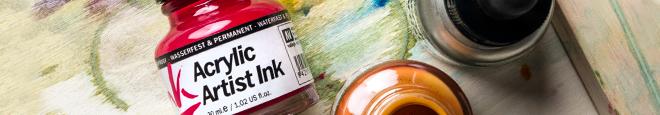 Vallejo : Acrylic Artist Ink