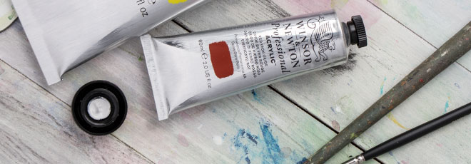 W&N : Professional Acrylic Paints