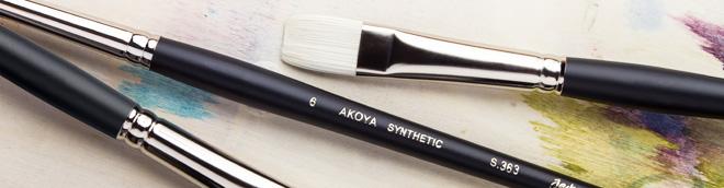 Jackson's : Akoya Synthetic Brushes : Save 20%