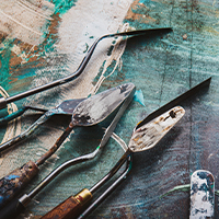 Инструменты для  живописи
