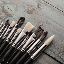 Jackson's : Black Hog and Shiro Brushes : Save an extra 15%