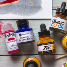 Selected Acrylic Inks : Save up to 30% off RRP