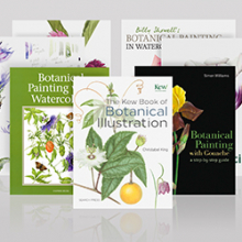 Botanical Painting Books : Save 30% off RRP