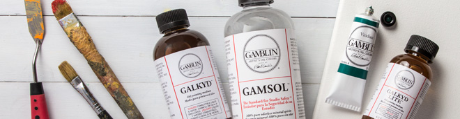Gamblin : Oil Paints and Painting Mediums : Save 15%