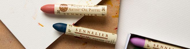 Sennelier : Oil Pastels : Save 30% off RRP