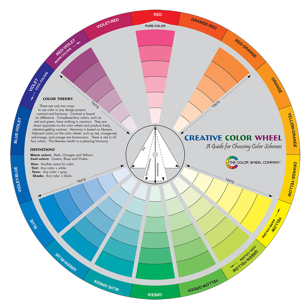 Color Wheel Company Creative Color Wheel Jackson S Art Supplies