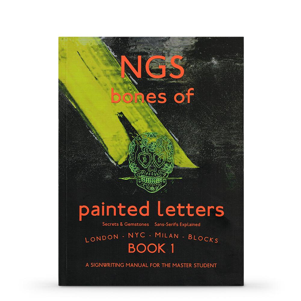 Ngs Bones Of Painted Letters Book 1