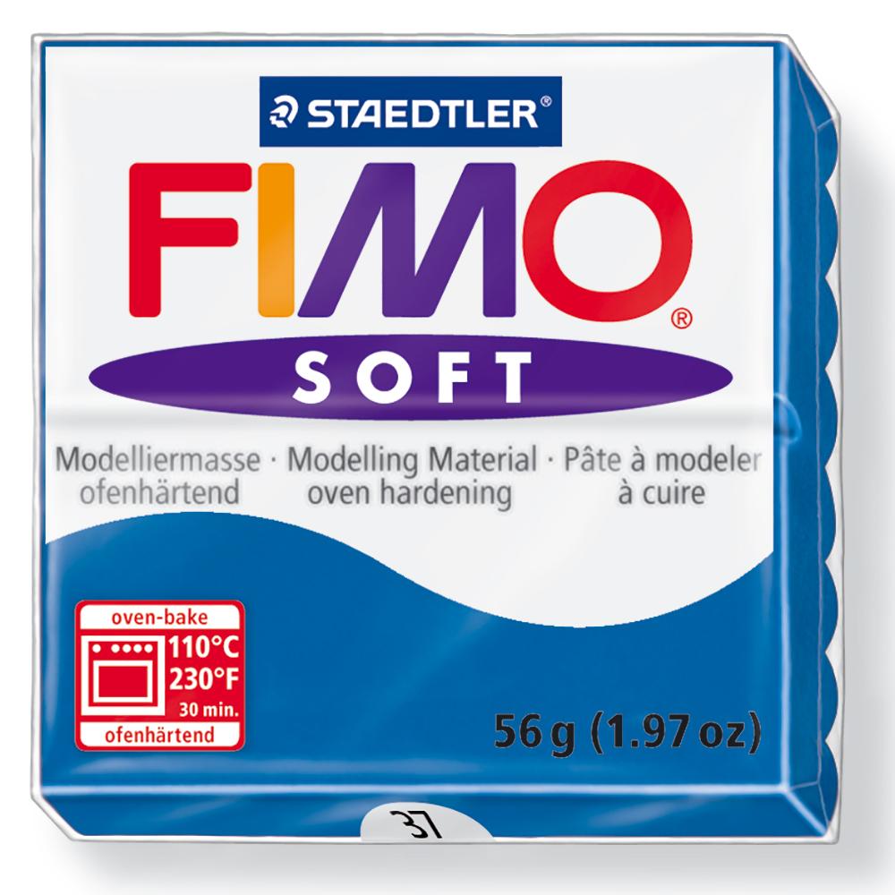 2 oz Ultramarine Staedtler Fimo Professional Soft Polymer Clay