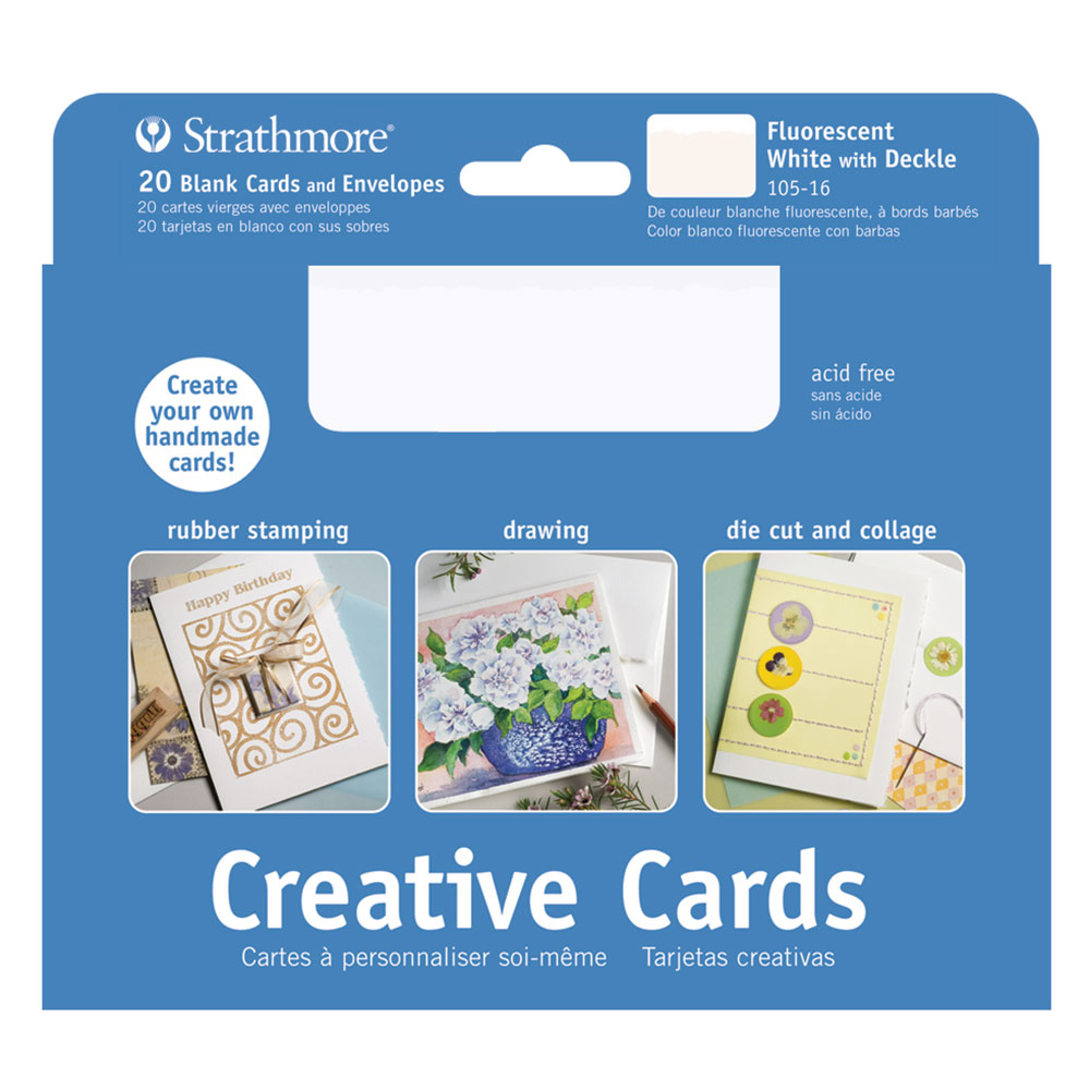 Strathmore Creative Cards Full Size 5x6875in Pack Of 20