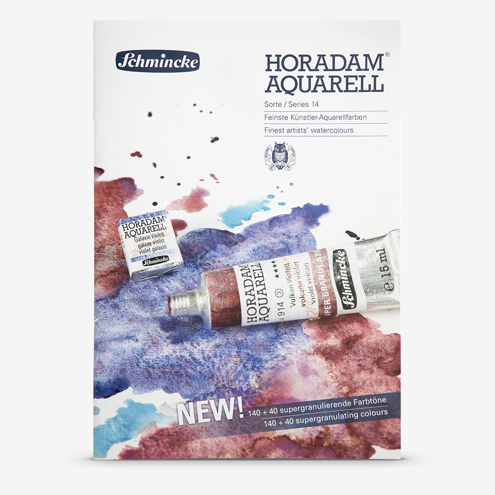 Schmincke Horadam Watercolour Printed Colour Chart Jackson S Art Supplies