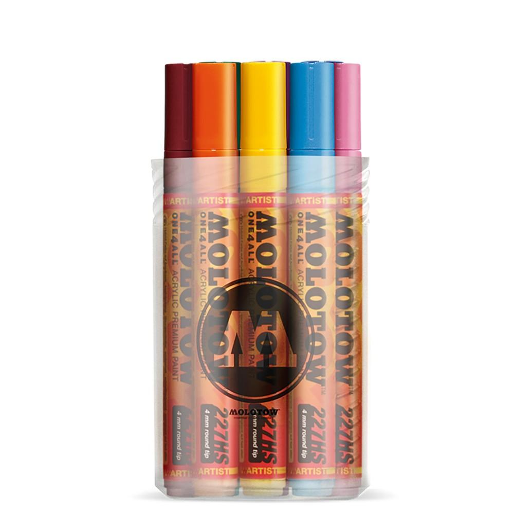 Molotow : One4All : 227HS : Acrylic Marker : 4mm : Main Kit I : Set of 12