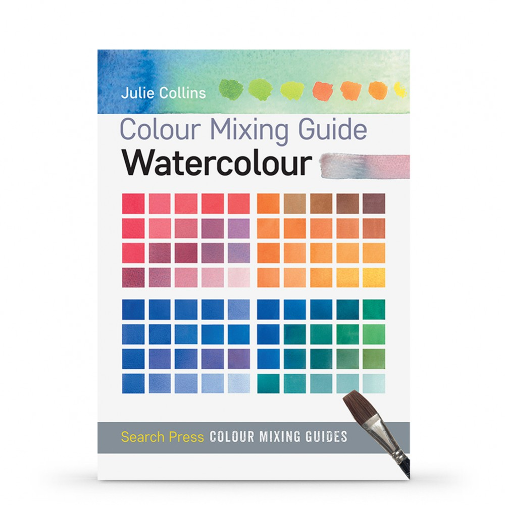 Colour Mixing Guide: Watercolour Book by Julie Collins