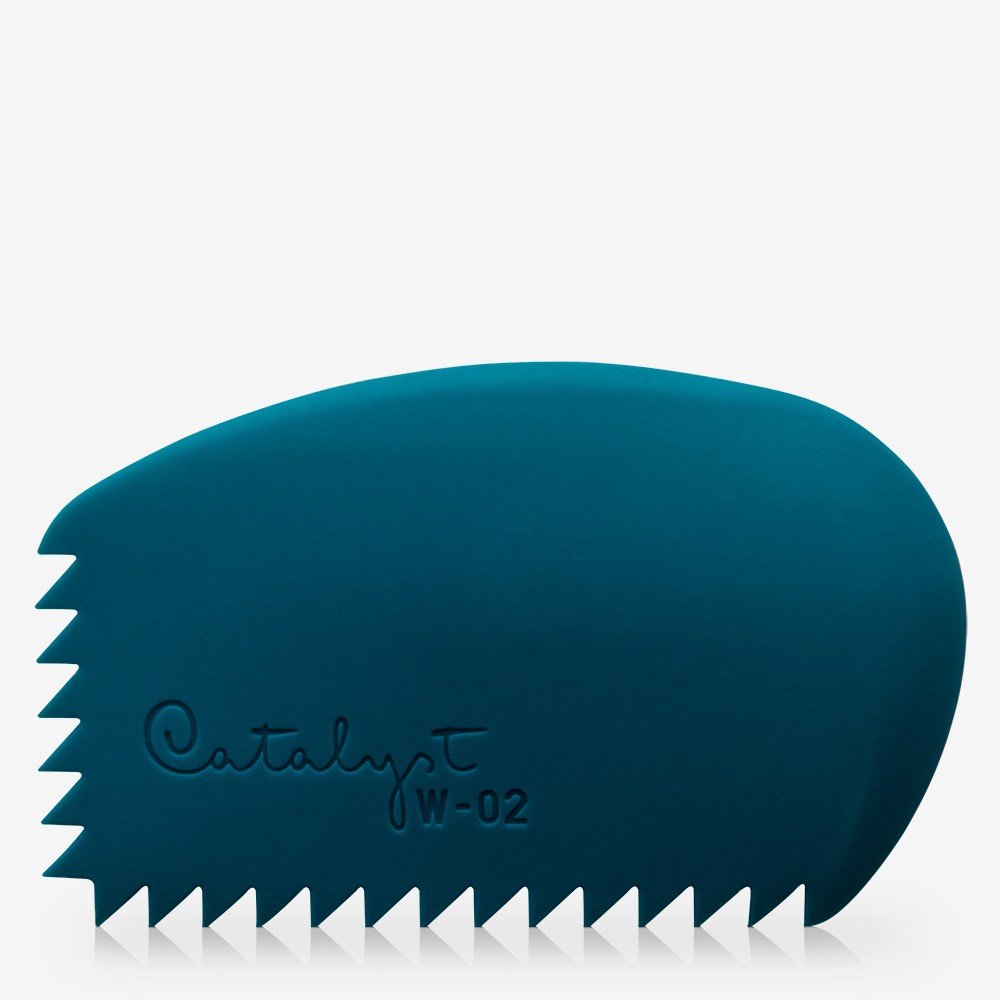 Princeton : Catalyst Wedge : Silicon Painting Tool : No. 2 Blue