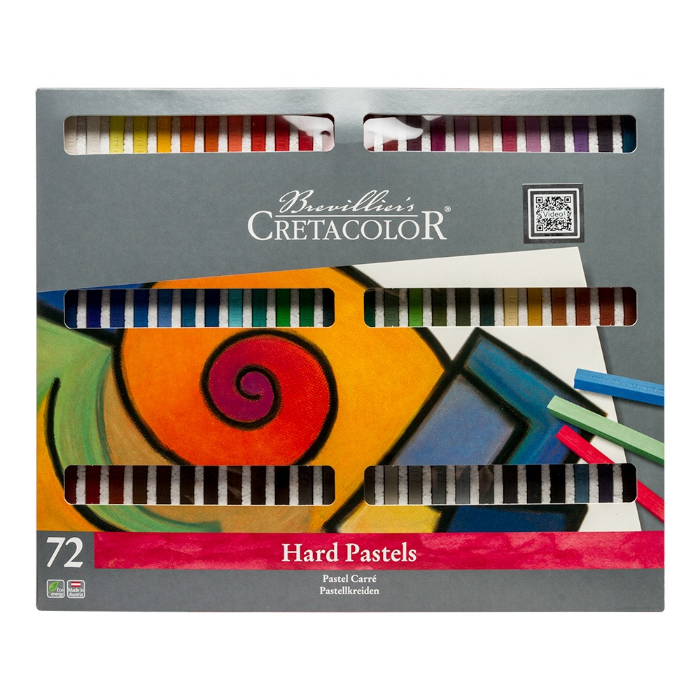 Cretacolor : Carre Hard Pastel : Set of 72