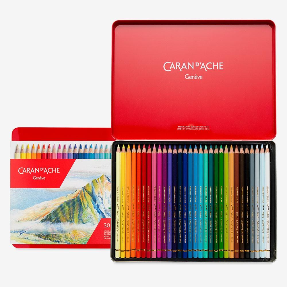 Caran d'Ache : Pablo Coloured Pencil : Set of 30