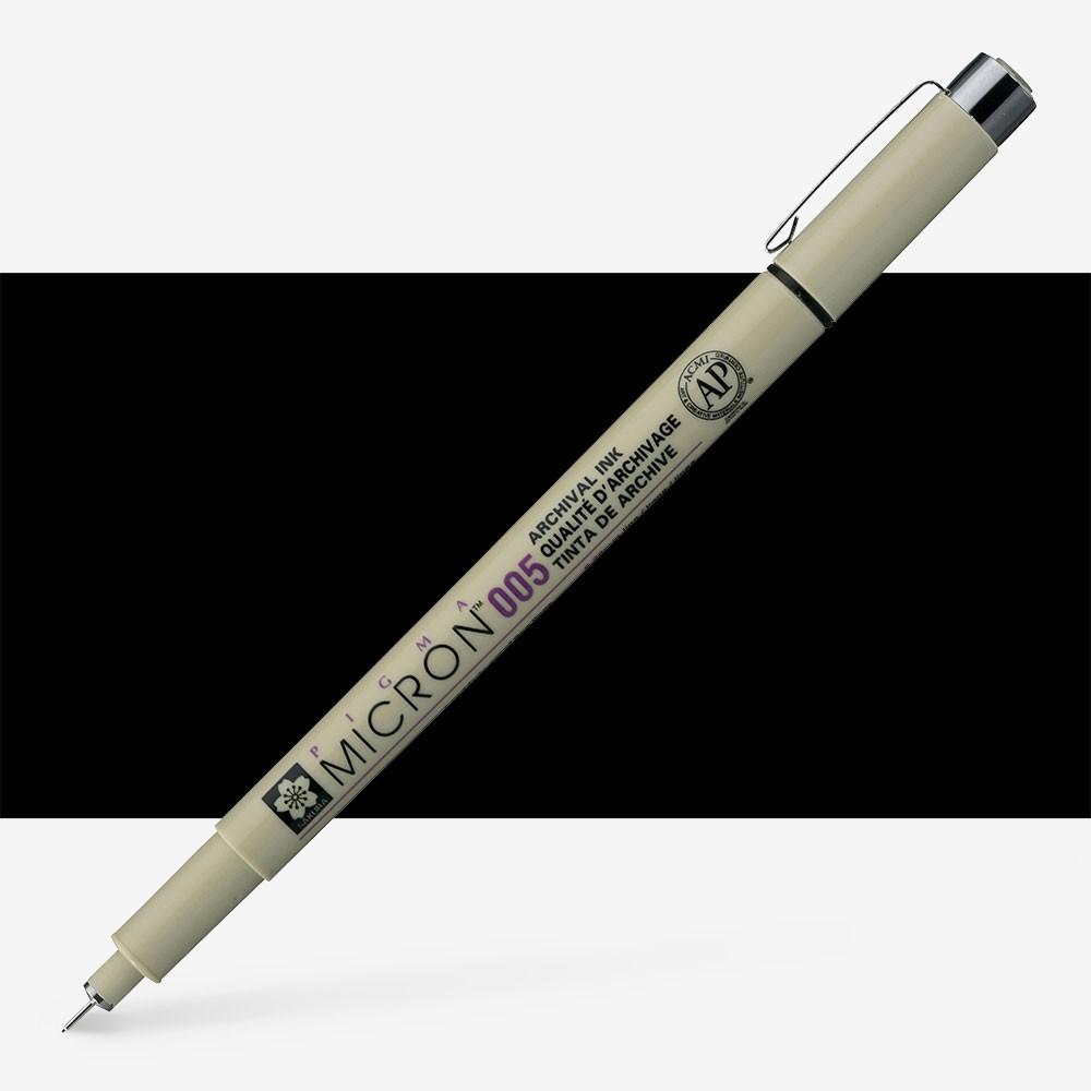 Sakura : Pigma : Micron Pen 005 : Black : 0.2 mm