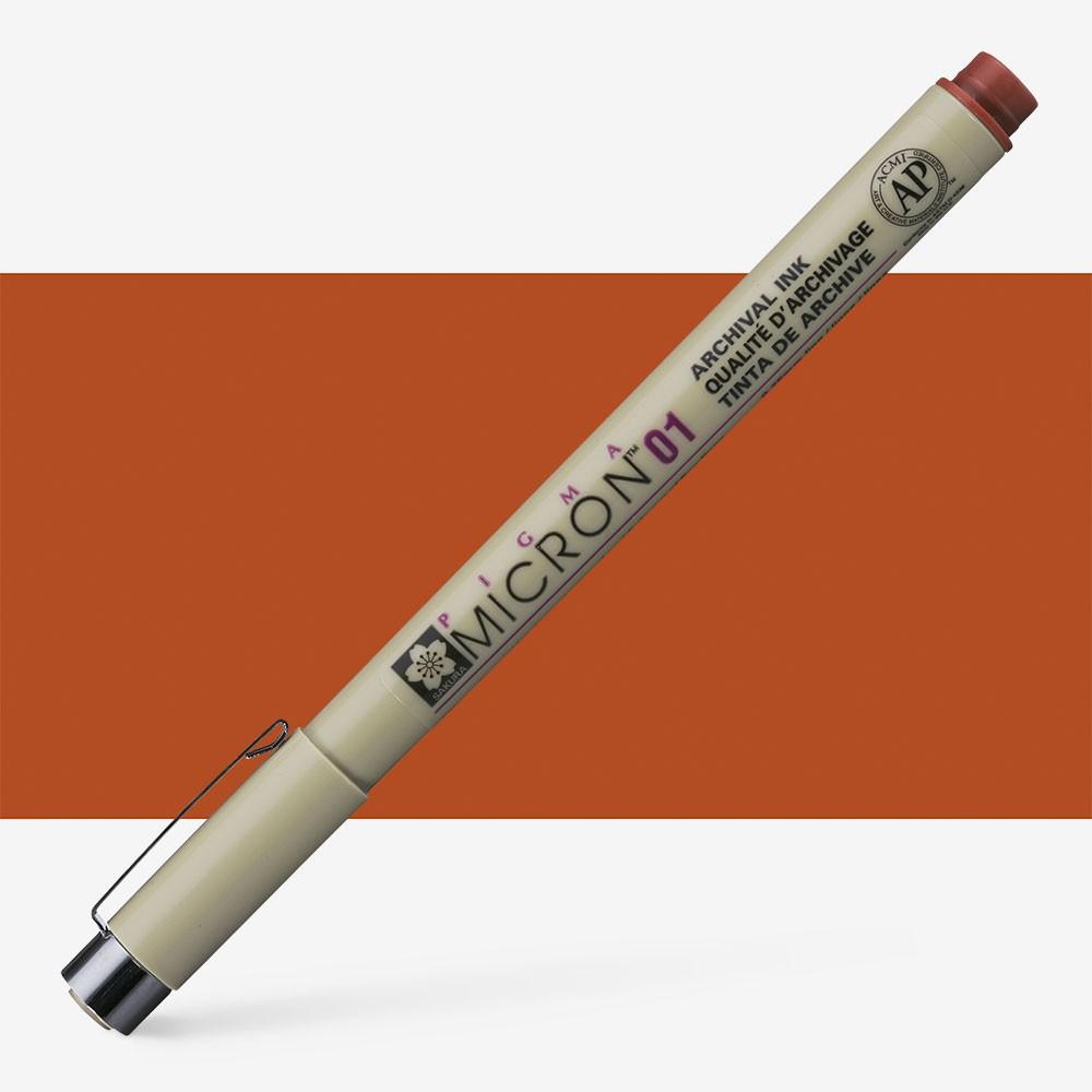 Sakura : Pigma : Micron Pen 01 : Brown : 0.25 mm