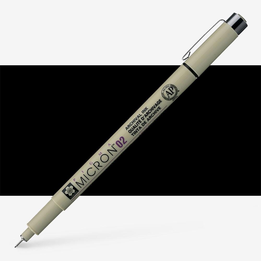 Sakura : Pigma : Micron Pen 02 : Black : 0.3 mm