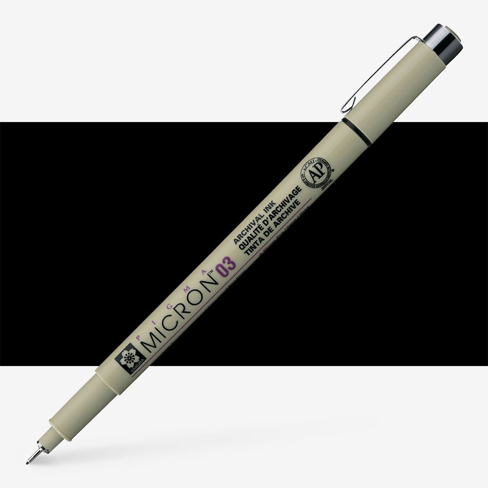 Sakura : Pigma : Micron Pen 03 : Black : 0.35 mm